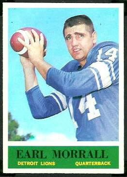 Earl Morrall 1964 Philadelphia football card