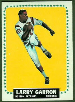 Larry Garron 1964 Topps football card