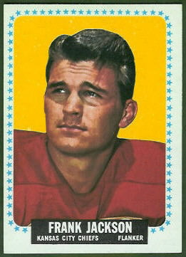 Frank Jackson 1964 Topps football card