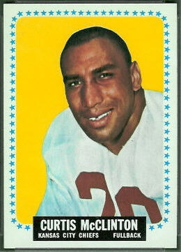 Curtis McClinton 1964 Topps football card