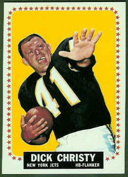 Dick Christy 1964 Topps football card