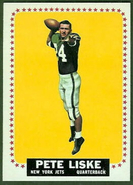 Pete Liske 1964 Topps football card