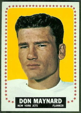 Don Maynard 1964 Topps football card