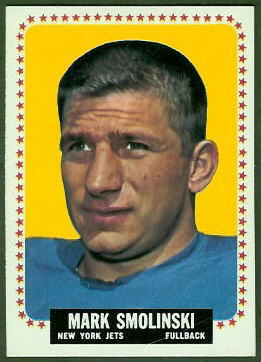 Mark Smolinski 1964 Topps football card
