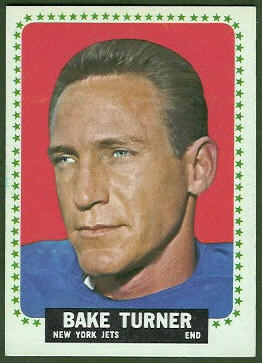 Bake Turner 1964 Topps football card