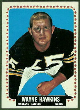 Wayne Hawkins 1964 Topps football card