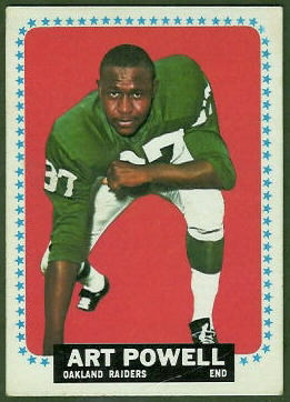 Art Powell 1964 Topps football card
