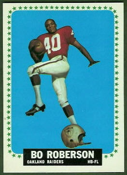 Bo Roberson 1964 Topps football card