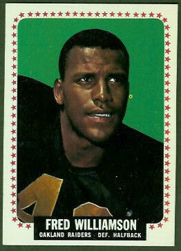 Fred Williamson 1964 Topps football card