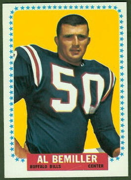 Al Bemiller 1964 Topps football card