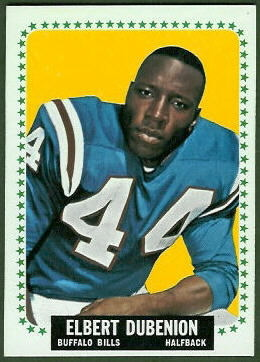 Elbert Dubenion 1964 Topps football card