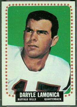 Daryle Lamonica 1964 Topps football card