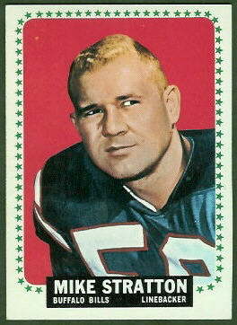 Mike Stratton 1964 Topps football card