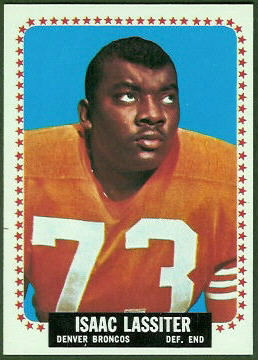 Ike Lassiter 1964 Topps football card