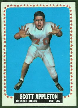 Scott Appleton 1964 Topps football card