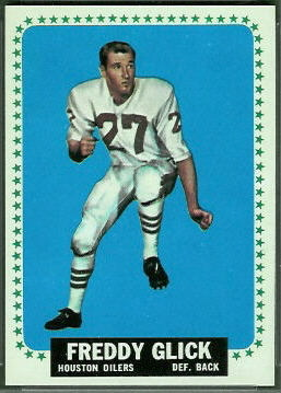 Freddy Glick 1964 Topps football card