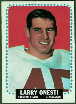 Larry Onesti 1964 Topps football card