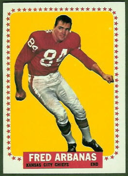 Fred Arbanas 1964 Topps football card