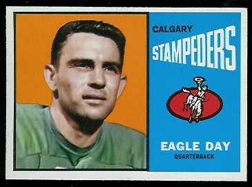 Eagle Day 1964 Topps CFL football card