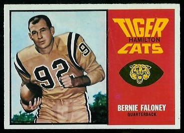 Bernie Faloney 1964 Topps CFL football card