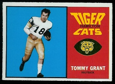 Tommy Grant 1964 Topps CFL football card