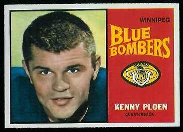 Ken Ploen 1964 Topps CFL football card