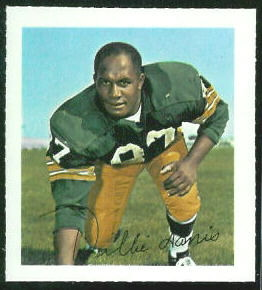Willie Davis 1964 Wheaties Stamps football card