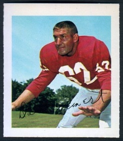 Dale Meinert 1964 Wheaties Stamps football card