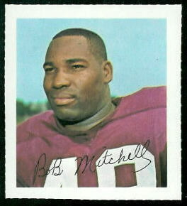 Bobby Mitchell 1964 Wheaties Stamps football card