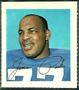 Jim Parker 1964 Wheaties Stamps football card
