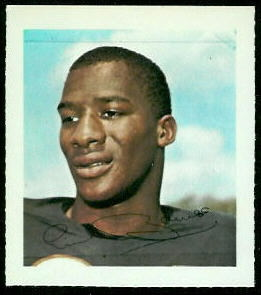 Erich Barnes 1964 Wheaties Stamps football card