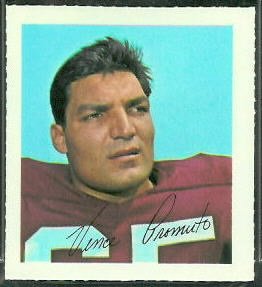 Vince Promuto 1964 Wheaties Stamps football card