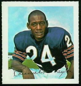 Roosevelt Taylor 1964 Wheaties Stamps football card