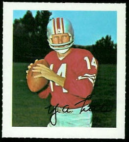Y.A. Tittle 1964 Wheaties Stamps football card
