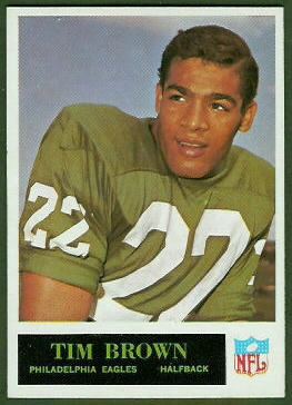 Timmy Brown 1965 Philadelphia football card