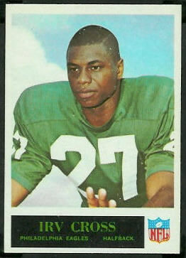 Irv Cross 1965 Philadelphia football card