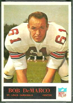 Bob DeMarco 1965 Philadelphia football card
