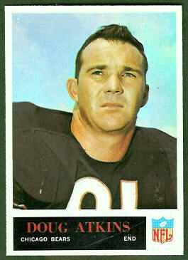 Doug Atkins 1965 Philadelphia football card