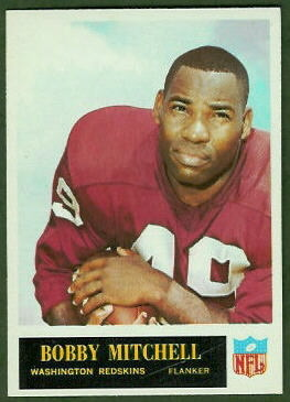 Bobby Mitchell 1965 Philadelphia football card