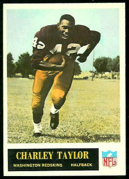 Charley Taylor 1965 Philadelphia football card
