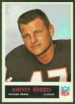 Johnny Morris 1965 Philadelphia football card