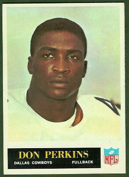 Don Perkins 1965 Philadelphia football card