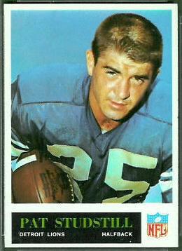 Pat Studstill 1965 Philadelphia football card