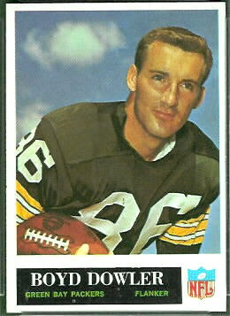 Boyd Dowler 1965 Philadelphia football card