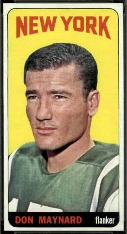 Don Maynard 1965 Topps football card