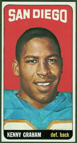 Kenny Graham 1965 Topps football card