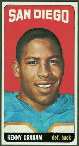 Kenny Graham 1965 Topps football card