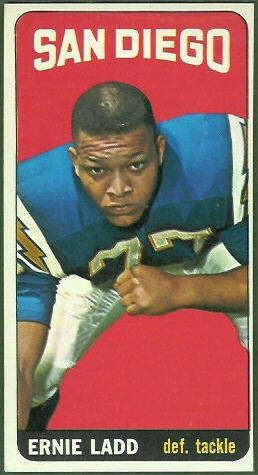 Ernie Ladd 1965 Topps football card