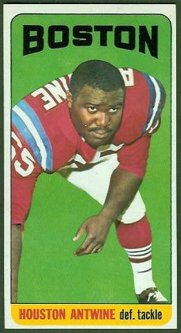 Houston Antwine 1965 Topps football card