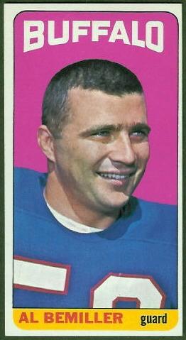 Al Bemiller 1965 Topps football card
